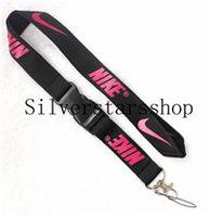charakter cabochon großhandel-Bitte kontaktieren Sie uns, wenn Sie brauchenNIKE Black Pink Keychain Lanyard Clip mit Gurtband Quick Release Buckle