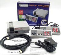 ventes de noël achat en gros de-HDMI Mini Classique Consoles De Jeux TV CoolBaby 600 Modèle Vidéo Joueur De Jeux Pour 600 NES HD Console de Jeux Anniversaire Noël Cadeau De Noël vente chaude