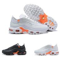 кроссовки торты оптовых-Новый TN обувь кроссовки мужчины женщины продают как горячие плюс TN ультра торты мода увеличение вентиляции Повседневная обувь кроссовки