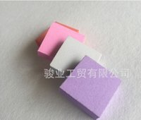 mini bloques de limas de uñas al por mayor-100 UNIDS / LOTE mini lijado bloque de almacenamiento de limas de uñas para herramientas de uñas art pink emery board para salón de uñas Envío gratis