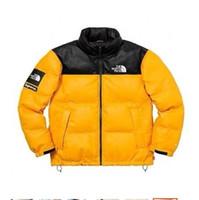 зимние парки оптовых-Открытый куртка лицо Север куртки для мужчин мода Марка пуховик зимнее пальто с тегами спортивный бренд парки пальто Outdoorwear одежда