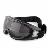 ingrosso occhiali soffiati-Occhiali da ciclismo per esterni Tattiche contro gli occhiali di protezione Occhiali per lo sci di fondo Proteggersi dall'incurvatura della chiatta di sabbia Lenti regolabili elastiche