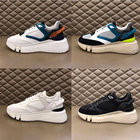Wholesale lime fashion resale online - high quality designer men s casual shoes authentic leather fashion comfortable and wearable no wear feet