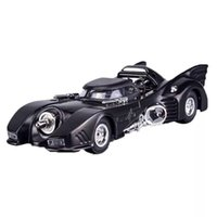 Wholesale batman cars for sale - Group buy 1 High Simulation Batman Batmobile Alloy Diecast Toy Vehicle Sound Light Model Pull Back Cars Boys Gifts Toys For Children Y200317