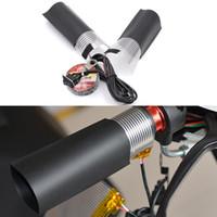 juego de manillares al por mayor-1 UNIDS 12 V Manija de la Motocicleta Eléctrica Grips Kit de Repetición de la Mano Set de Calentamiento Inserción Manillar Pad Pad de Alta Calidad