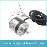 Wholesale rotary encoder pulse for sale - Freeshipping New arrival AB Two Phase V CPR Pulses Incremental Optical Rotary Encoder