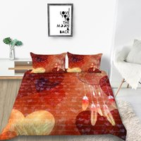 Wholesale blue pattern duvet cover resale online - 2019 New Products Creative Pattern Dream Catcher Series Bedding Sets Colorful Feathers Printing Set Duvet Cover Set