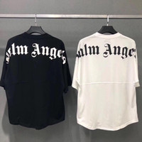 ingrosso pipistrello-New Oversize Palm Angels Uomo Donna T-Shirt Best Quality Summer Style Bat Shirt Palm Angels T-Shirt Palm Angels Mens Top Tees