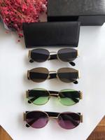 tons redondos para homens venda por atacado-2.019 Mulheres de Metal Sunglasses Steampunk Homens Retro Lens oval redondo pequeno Sun Glasses Punk Unisex Feminino Óculos Shades Vintage