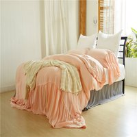 capa de edredon rosa rosa venda por atacado-Conjuntos de cama de cama queen size king size rei Laved sereias rosa Beddingset 3 PCS (1 capa de edredon + 2 fronhas) conjuntos de cama Consolador