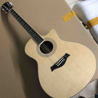 Aaaa All Solid Spruce Top G414 Acoustic Electric Guitar with Electronic 301 EQ Headstock Can be Customized with Abalone Logo