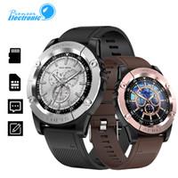 u8 relógios inteligentes para homens venda por atacado-Para apple smart watch sw98 smartwatch homens suporte cartão sim pedômetro câmera bluetooth para android telefone pk dz09 y1 u8 b57 relógio de pulso