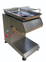 dickenmesser großhandel-Maßgeschneiderte Dicke 110/220 V alle Edelstahlfrischfleischschneider alle Edelstahlmesser Fleischschneider Fleischschneidemaschine
