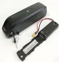 pack batteries li ion achat en gros de-Batterie 48V 17AH 18AH 1000W de tube de bicyclette électrique de capacité élevée utilisent la cellule Li-ion de batterie de LG le kit de moteur d'E-vélo EU aucun impôt