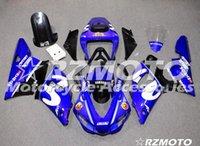 98 r1 verkleidung blau großhandel-Neue ABS-Vollverkleidungssätze in Erstausrüsterqualität passend für YAMAHA YZF R1 98 99 YZF1000 1998 1999 R1 Karosseriesatz Custom Blue