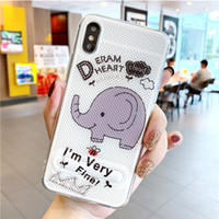 Wholesale coolest new phones for sale - Group buy New cooling phone case for pro max mesh case XR bracket breathable painted phone case