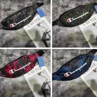 ingrosso raccoglitore di soldi di corsa-Champion Marca Crossbody Chest Bags Oxford Unisex Cintura Marsupio Uomo Donna Designer Fannypack Beach Travel Money Coin Purse Portafogli C71201