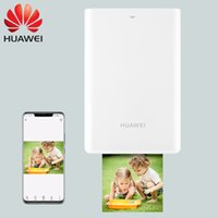 ingrosso bluetooth colorato-JEPOD JP-Huawei Stampante portatile portatile Bluetooth colorata Mini Stampante fotografica tascabile domestica con carta fotografica ZINK Senza inchiostro