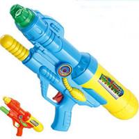 ingrosso fucili da caccia di qualità-Cool Summer giochi all'aperto ingranaggi Piscina piscina giocattolo giocattoli da spiaggia acqua di emergenza pistola 40x18cm alta qualità di trasporto