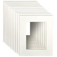 ingrosso combinazioni di colori della pittura della stanza-Tappetini per cornici 8x10 per immagini 5x7 con un pacchetto di tagli bianchi con nucleo centrale da 12 per decorazioni domestiche