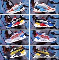 menina brinquedos para homens venda por atacado-Com Caixa Dos Homens RS-X Brinquedos Lançamento Sapatos de Corrida para Homens Sapatilhas Sapatilha Masculina Das Mulheres de Jogging Mulheres Esportes Formadores Femininos Meninos Chaussures menina