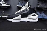 y3 zapatos para hombre al por mayor-2019 marca moda mocasines deportivos para hombre zapatillas para hombre Y3 Kaiwa Sneakers runners recién llegados entrenadores con caja Y-3