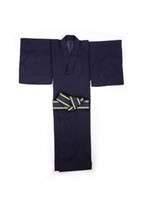 Men Spring Japan Traditional Kimono Male Night Dressing Gown Classic Lounge  Sleepwear robe Male cosplay Bathrobes Yukata 01 5d700375b