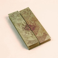 Potter The Marauder's Map Wizard School Ticket Students Collection Gifts Fans Party potter Map