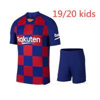 kits juveniles al por mayor-Camiseta de fútbol 2019 2020 Fútbol Equipo infantil 2019-2020 Maillot de Foot BOYS KIDS Camisas de futbol youth