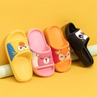 Wholesale baby girl cute sandals for sale - Group buy Big children s non slip bathroom slippers baby cute flat sandals girls sports boys spring summer home fish mouth slippers