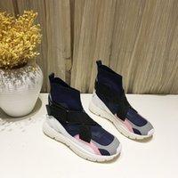 фирменные названия квартир оптовых-Новое дизайнерское имя Марка повседневная обувь Плоская мода Вышитые звезды Кожа на шнуровке Низкие кроссовки Runaway Arena Shoes ys19022202