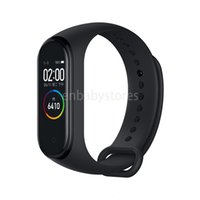 Wholesale xiaomi mi band 3 resale online - Original In Xiaomi Stock Mi Band Smart Miband Color Screen Bracelet Heart Rate Fitness Music Bluetooth m Waterproof Band4