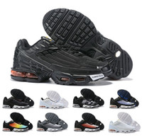 Wholesale big laced socks resale online - T N Mens Designer Shoes air grape triple black white sunset wolf Olive Metallic t n m big size running sneakers air shoes add socks as gift
