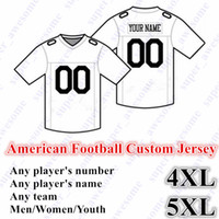 NEW American Football CUSTOM Jersey All 32 Team Customized Any Name Any  Number Size S-6XL Mix Order Men Women Youth Kids Stitched ecd32a670
