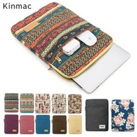 Wholesale sleeve for 14 inch laptop for sale - Group buy 2019 Newest Brand Kinmac Laptop Bag quot quot quot quot inch Sleeve Case For MacBook Air Pro quot Free Drop Shipping SH190924