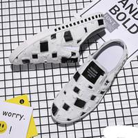 männer halbe pantoffelschuhe groihandel-Denim Loafers für Mann-Sommer-Halb Drag Breathable Mens Casual Gehen Loafers Wohnungen Segeltuch-Schuhe Komfort faulen beiläufigen Slippers