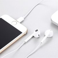 Wholesale iphone 5s headsets for sale - Group buy New In Ear Headphones Wired Bluetooth Earphone for Apple IPhone X XR XS Max S Plus S Earbuds with Microphone Ear Phone