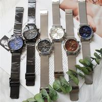 relógio automático venda por atacado-Relógio de quartzo de luxo chefe automático de aço inoxidável esporte de negócios popular relógio de pulso big bang relógios