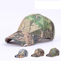 sombreros de gorras sombrillas al por mayor-Hombres y mujeres Snapback Cap Camo Sombrilla Pareja Sombreros de béisbol Sombreros de bola de pesca turística para escalar Equipo de campamento ZZA1044
