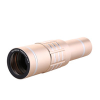 Wholesale universal optical zoom telescope resale online - Universal X Zoom Optical Mobile Phone Telescope Long Focus Monocular Times Zoom Camera Clip Lens For iPhone For Android