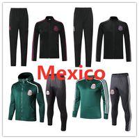 ingrosso allenamento messicano-2020 Mexico rivestimento di calcio tuta 19 20 Camisetas RAUL CHICHARITO LOZANO ASENSIO calcio tuta kit giacca da allenamento a maniche lunghe