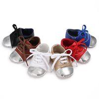 chaussures de sport d'hiver pour filles achat en gros de-Mode Hiver Automne Enfants Garçons Filles Enfant Automne Splice Chaussures Casual Baskets Lit Bébé Bébé Premiers Marcheurs Bébé Chaussures # 05