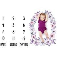 ingrosso ragazze di tappeto-Coperta per neonati Coperta per neonati Neonati Fotografia Puntelli Tappeto neonato Baby Boy Girl Puntelli fotografici Accessori fotografici