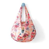 водонепроницаемый торговый тотализатор оптовых-Fashion Eco Storage Shopping Bag with Hasp Women's Handbags Waterproof Thick Reusable Grocery Shopping Bag Foldable Tote Bags