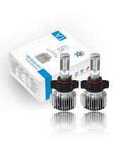 bulbo poderoso venda por atacado-Par V1 Powerful H16 5202 / PSX24W / 5200/5201/9009 ZES LED Chip Farol do carro lâmpadas Kit de conversão branco fresco 6000K 80W com Canbus