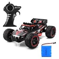 brinquedo do carro de corrida da bateria venda por atacado-Carro de Controle Remoto de Alta Velocidade de Corrida de Bateria Elétrica RC Carros Brinquedos de Presente Rc Crawler Brinquedos para Crianças