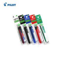 azul rojo negro verde pluma al por mayor-Al por mayor-Pilot FriXion Ball Gel Multi Pen Recarga - 0.5 mm 6 recargas / lote (2 paquetes) Negro / Rojo / Azul / Verde LFBTRF-30EF