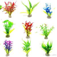Wholesale aquatic plants for sale - Group buy Simulation Aquatic Flower Plant Fish Tank Scenery Crawler Box Landscape Plants Hot Selling With Various Pattern jl J1