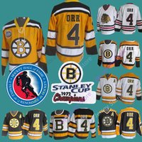 ingrosso patch vintage-Bobby Orr Jersey CCM Vintage 1972 Stanley Cup Hall Of Fame Patch Boston Bruins Chicago Blackhawks Winter Classic