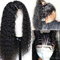 Wholesale brazilian remy jerry curl hair for sale - Group buy Remy Human Hair Full Lace Wig style Brazilian Hair Jerry Curl Wig Density with Baby Hair Natural Hairline Pre Plucked Women s Shor